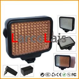 LED5009 UE EUA REINO UNIDO Carregador + Bateria + 9 W Levou Lâmpada de Luz de Vídeo para a Câmera DV Camcorder Iluminação de Fornecedores de luz de vídeo camcorder