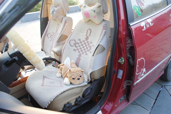 37 * 25cm豪華+ PP綿犬ティッシュボックスのための10個/ロット漫画車のティッシュボックス