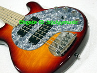 Wholesale Bass Sting Ray Strings - 5 strings Sting Ray 5 bass Guitar Music bass guitar in faded Cherry Burst electric bass NEW
