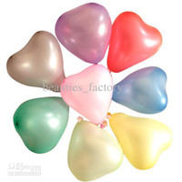 Wholesale Heart Shape Balloon Decoration - 200 Pcs Multicolor Heart Shape Latex Balloon Party Decoration