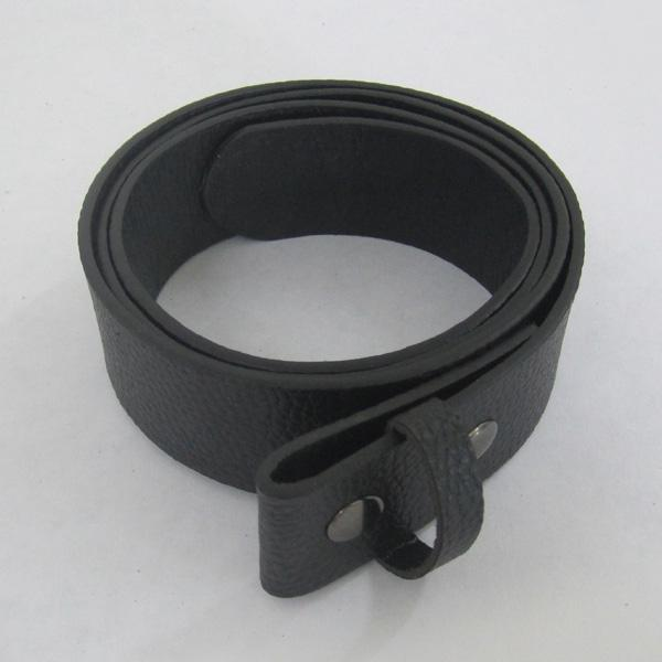 BuckleHome Fashion black PU belt leather belt snap on belt 1 lot 10pcs MOQ free shipping