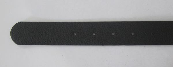 BuckleHome Fashion black PU belt leather belt snap on belt 1 MOQ