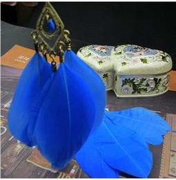 boucles d'oreilles plumes de paon d'argent Promotion Nouveaux bijoux bohème styles boucles d'oreilles longues en plumes de paon plaqué or
