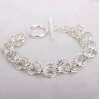 Hot Nieuwe 8-inch lange 925 zilveren bedelarmband tot unisex mode-sieraden geschenken gratis verzending 10 stuk