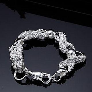 Бестселлер 925 серебряный браслет большой Bailong мужская мода ювелирные изделия бесплатная доставка 10 шт.