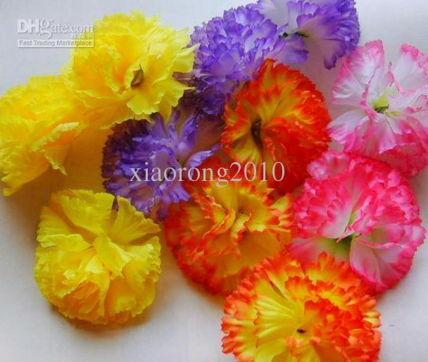 2018 100p new hot artificial silk carnation flower heads for 2018 100p new hot artificial silk carnation flower heads for mothers day diy brooch 8cm pink purple yellow orange from xiaorong2010 1946 dhgate mightylinksfo