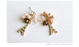 Wholesale eiffel earrings - Jewelry The Ribbons Of Paris Eiffel Tower Earrings Ear Hammer Earrings Earrings Ear Hammer Women's
