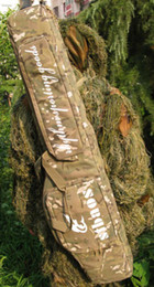 Wholesale Double Rifle Carry Case - New tactical carry case 1.2m slip double bag for rifle gun cp Camouflage color