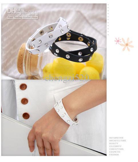 Bransoletki biżuteria mody Bransoletki imitacja skórzana bransoletka ręczne bransoletki