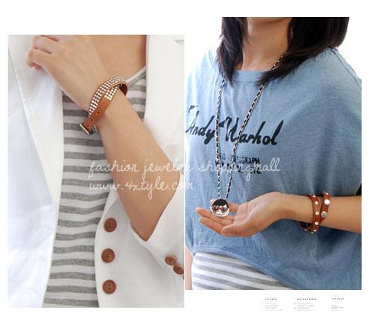 Mode-sieraden Armbanden Armbanden Imitatie Lederen Armband Handring Armbanden