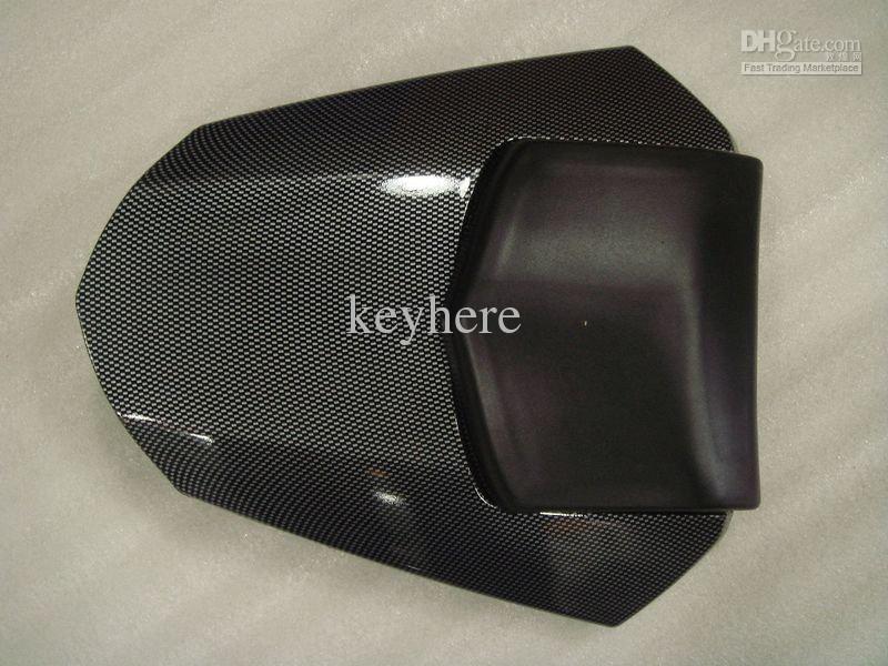 Solo Black ABS plastikowy motocykl tylni siedzenie Pokrywa Cowl Coring Kit dla Yamaha YZF-R6 2008 2009 08-09