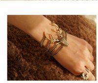 Wholesale Adorn Strands - Fashion Jewelry Bracelets Bracelets Deer Deluded Bracelet Adorn Article