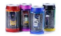 Wholesale Rc 32 - Coke Can Mini RC Radio Remote Control Micro Racing Car Free Shipping