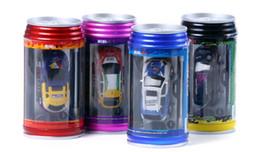 Wholesale Rc 14 - Coke Can Mini RC Radio Remote Control Micro Racing Car Free Shipping
