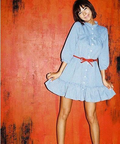 여자의 패션 벨트 소녀 벨트 여자의 벨트 고급 벨트 화살촉 허름한 허리띠