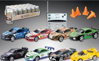 Wholesale Wall Racing Car Remote Control - Coke Can Mini RC Radio Remote Control Micro Racing Car Gravity Rc Wall Climbing Car