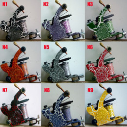 Wholesale Choose Work - 100pcs Lot Tattoo Color Machine Gun Kits Supply Tattoos 36 Color Designs To Choose For Tattoo Work
