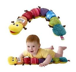 Wholesale Lamaze Musical Inchworm Free Shipping - Free Shipping New Lamaze Musical Inchworm Lamaze musical plush toys Lamaze educational toys baby gift