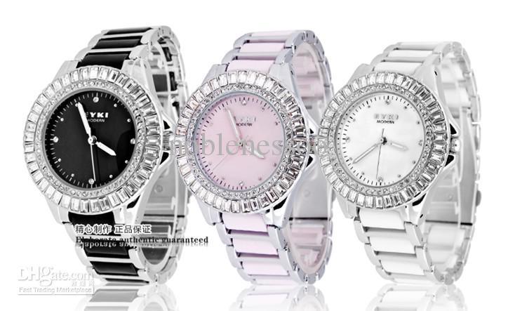 luxury new eyki ladies watch quartz elegant bracelet diamond watches women watches womenu0027s watches watch online shopping shop watches from noblenessoo