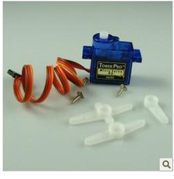 Wholesale Mini Radio Airplane - Brand new 10X SG90 9g Mini Micro Servo for RC Airplane Car Boat Children kid gift toy TH001