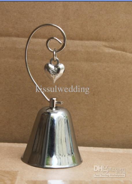 Свадебные подарки очаровательный серебряный колокол с оборванных сердце очарование PC901 45 шт. / лот Фабрика прямая продажа