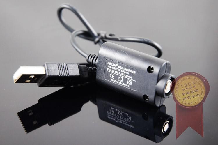 Gratis frakt USB Laddare för Ego, Ego-T, Joye 510 Elektronisk cigarett Hälsosam E-cigarett /