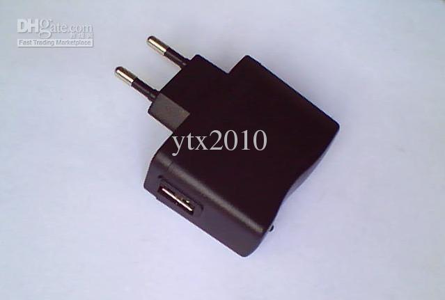 무료 배송 전자 담배 플러그 EU 플러그 미국 플러그 충전기 벽 충전기 500mAh 50pcs / lot