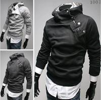 Wholesale Multi Colour Jacket - HOT monde Korea Men's Hoodie Sweatshirts Rabbit Hair Collar plus size Men's Jacket men's Coats men's outwear 5 colours gray 1171