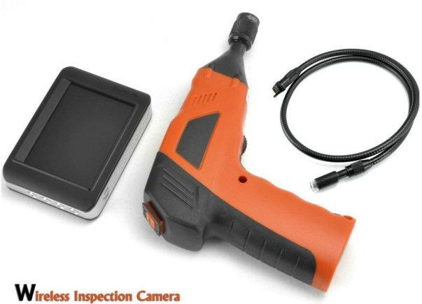 Telecamera di ispezione wireless con recensione del monitor LCD a colori - condotto dell'endoscopio