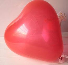 Wholesale Latex Heart Shaped Balloons - 200 Pcs Red Heart Shape Latex Balloon Party Decoration Balloons