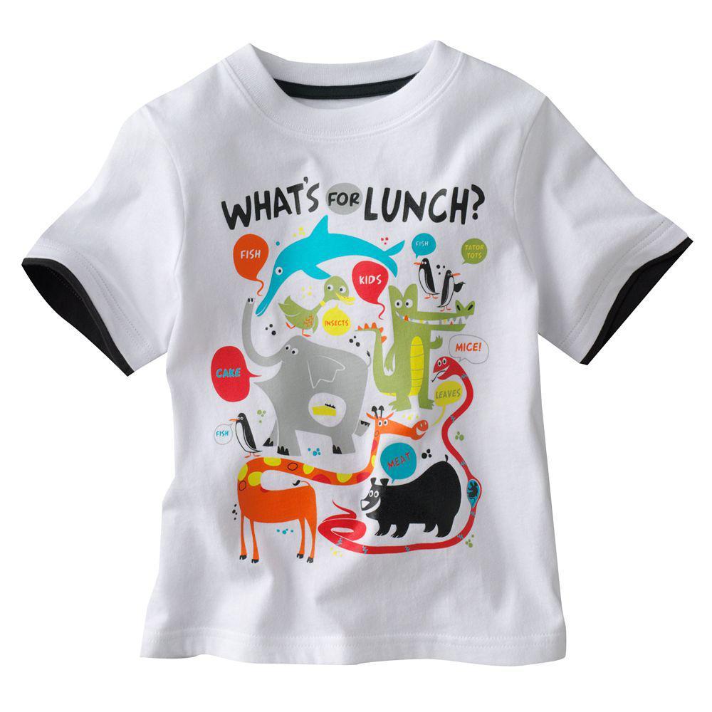 2017 Hot Girls Boys Cartoon T Shirt Casual Short T Shirt Easeful T ...