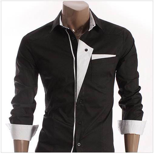 White dress shirts cheap custom shirt for Discount mens dress shirts online