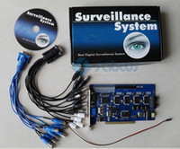 Wholesale Dvr Board Video Card - HOT Selling ~16CH Vision Card, GV-800 V8.3.2 Geo DVR Board CCTV Card Video Recorder Security Device