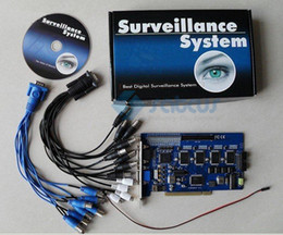 CCtv dvr board online shopping - HOT Selling CH Vision Card GV V8 Geo DVR Board CCTV Card Video Recorder Security Device