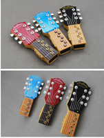 Wholesale Electric Wood Branding - 3pieces lots Air guitar Novelty Product Electric toys Music instrument guitar Brand New gift