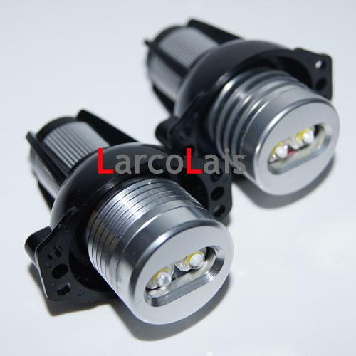 best selling 2pcs Super Bright 6W White LED Light Angel Eye Halo Ring Bulb Lamp for BMW Car E90 E91 328i 330i