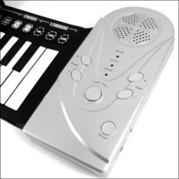 Wholesale Electronic Organ Toys - New Portable ROLL-UP Soft Electronic USB Piano Organ Keyboard New 49 Keys and 30 Function Children kid gift toy