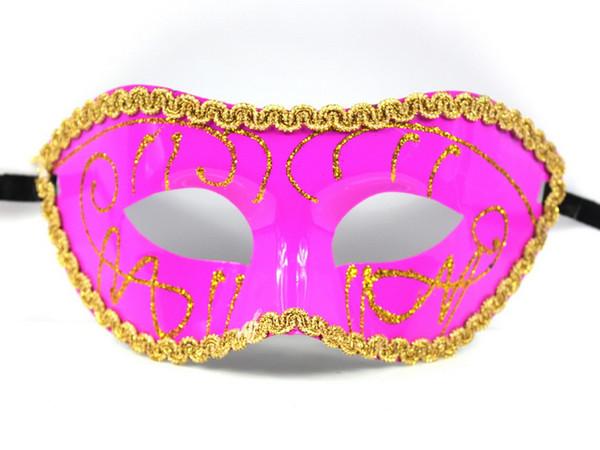 Halloween Masks Masquerade Venetian Women Lady Sexy Party Masks Big Discount Hot Selling 50pcs/lot Free Shipping