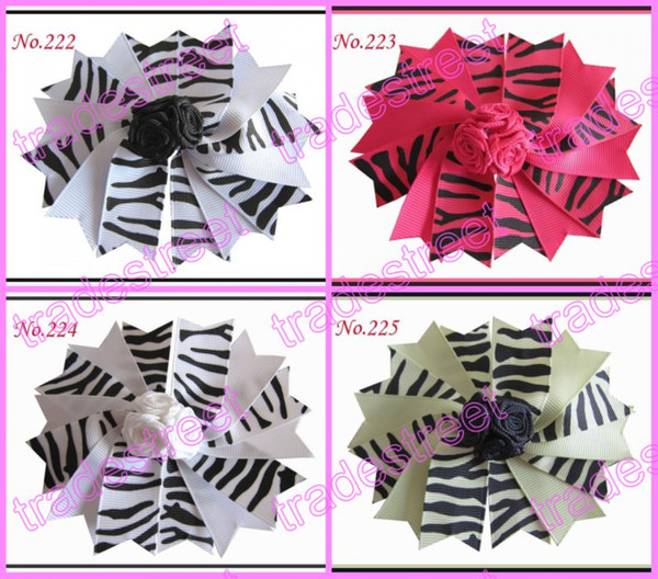 """Free shipping 20pcs 4.5"""" Girls Novel A-Swallowtail hair bows girl boutique hair Clips Mix color is avaiable Good quality and competive price"""