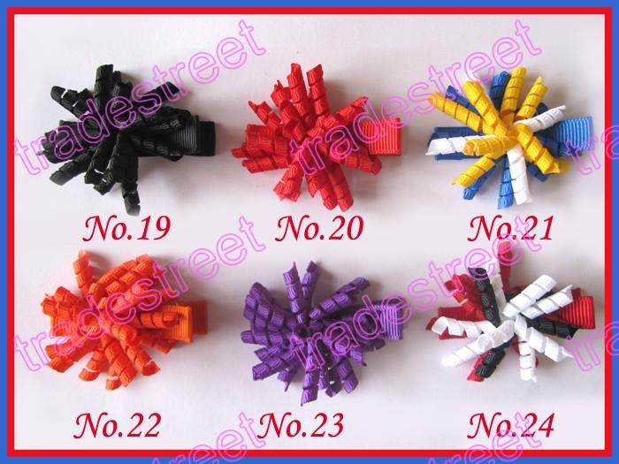 """1.5"""" korker hair bows SEW ones korker hair clips boutique corker hair clips"""