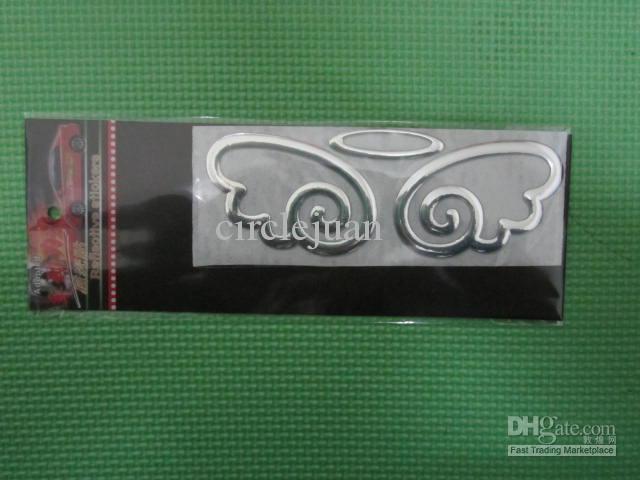 Angel Wings Spersonalizowane Naklejki Samochodowe Naklejki Samochodowe 3D Stereo Pierścień Dekoracyjne Naklejki Samochodowe Naklejki