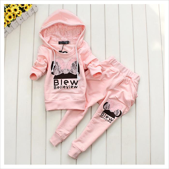 2017 Baby Girls Clothing Spring Baby Suits Girls Wear Lovely Girls ...