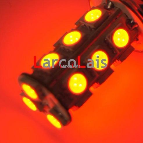 10st Red 1156 BA15S 18 SMD 5050 LED Light Car Turn Broms Omvänd svans Bakre signalljus LED-lampa