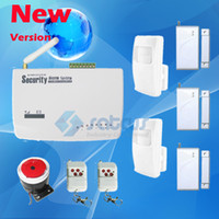 Wholesale Wireless Gsm Intelligent Home Security - Hot Sale-Intelligent Best Price Wireless Burglar GSM Home Alarm System Auto Dial Home Property Security Protect with Voice Prompt sg-122