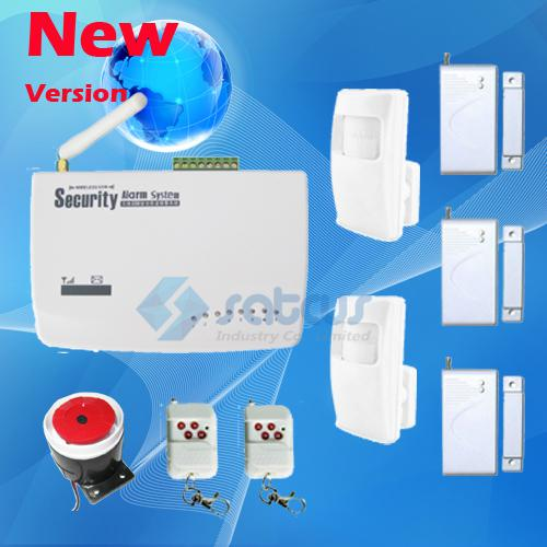 Hot Sale-Intelligent Best Price Wireless Burglar GSM Home Alarm System Auto Dial Home Property Security Protect with Voice Prompt sg-122