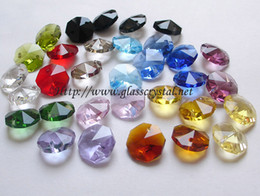Fedex / DHL / EMS Livraison gratuite + 100% qualité AAA garantie - couleurs assorties octogones de cristal 12mm / 14mm ? partir de fabricateur