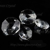 Wholesale 12mm Octagon Crystal Beads - 12mm 14mm 16mm 18mm Clear Crystal Octagon Beads