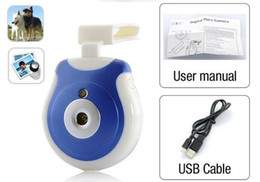 Wholesale fixed focus digital cameras - Pet's Eye View Camera Clip-on Pet Digital Camera For your Pets