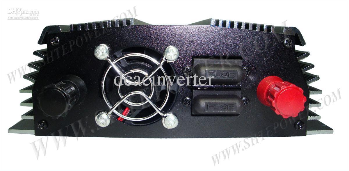 Pour le système domestique de panneau solaire CC 12V, Micro 500w sur l'inverseur solaire lié au réseau, sortie CA 190V ~ 250V