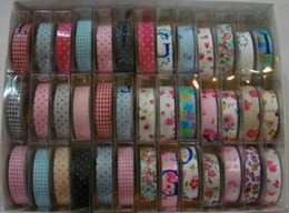 Wholesale Cotton Masking Tape - new fashion colorful Cotton printing tape DIY design (all flowers) printing masking tape 200pcs free shipping